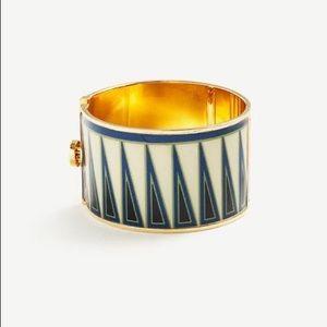 NWT Ann Taylor Tribal Geo Cuff Bracelet